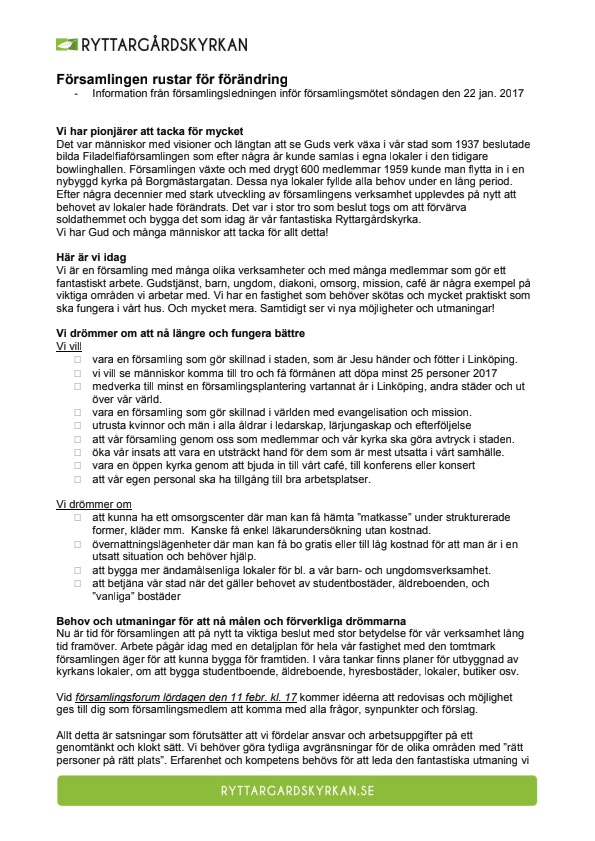 Församlingen rustar för förändring  Info 2017-01-15.pdf